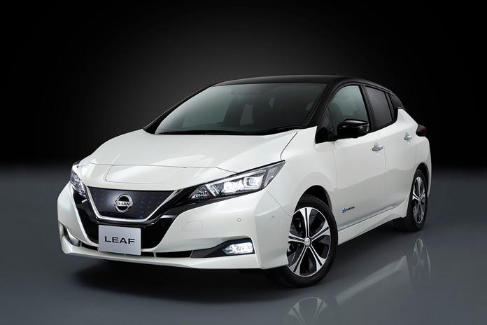Nissan Leaf EV.