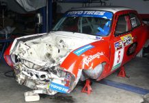 As you read this, it has already been stripped for useable parts by the mechanics at TR Motorsport.