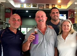 From left, Howard Bland, Jim Bell, Tony Oakes and Josie Ryan.