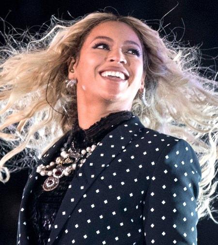 U.S. singer Beyonce. (AP Photo/Andrew Harnik)
