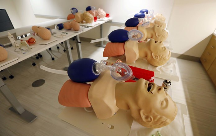 A study released on Sunday, Nov. 12, 2017 shows women are less likely than men to get CPR from a bystander and more likely to die, and researchers think that reluctance to touch a woman's chest may be one reason. (AP Photo/Rogelio V. Solis)