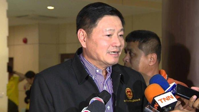 NLA vice president Peerasak Porjit.