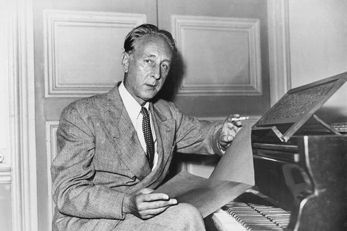 Composer Bohuslav Martinu.