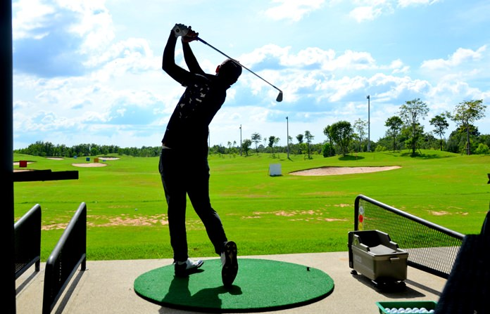 Siam Waterside Driving Range positions itself as the premier spot for golf practice in Pattaya.
