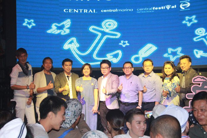 Chai yo! Former City Councilman Rattanachai Sutidechanai hosted the Dec. 1 event with Central Group executives and managers from the Central Festival Pattaya Beach and Central Marina malls.