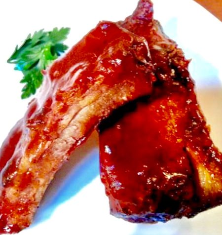 BBQ Pork Spare Ribs & Jasmine Rice for only 195 baht
