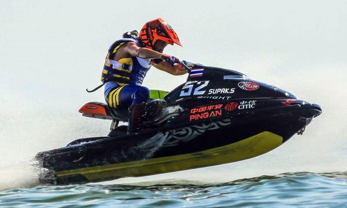 Supak Sretula won the Sport GP title at the Jet Ski World Cup in Pattaya.