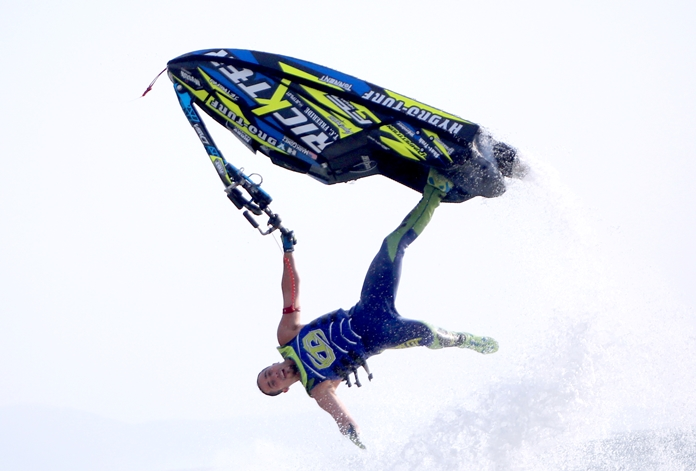 The Freestyle event was once again a big hit with spectators. (Photo/Jetski-worldcup.com)