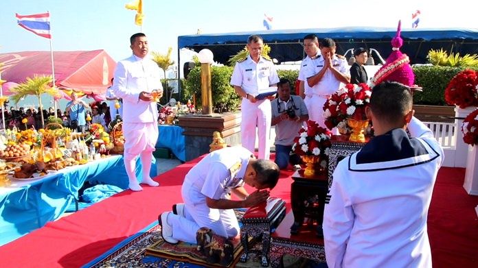 Pattaya's naval radio station celebrated the 137th birthday of HRH Abhakara Kiartivongse, the prince of Chumphon who is considered the father of the Royal Thai Navy.