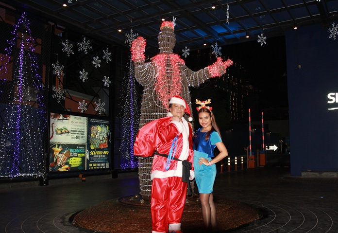 Christmas magic awaits inside Siam@Siam Design Hotel.