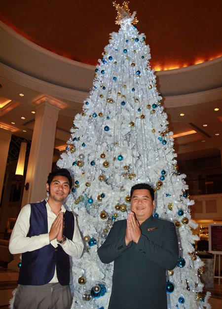 Welcome to the Dusit Thani Hotel's enchanted Christmas festival.
