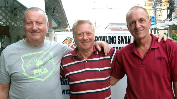 From left: Glenn Smith, Keith Buchanan and Dave Maw.