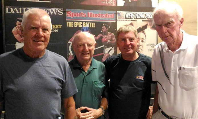 From left, Jim Connelly, David Phillips, Frank Grainger and Jerry McCarthy.