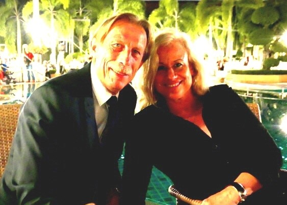 Christoph and Angelica Daum are happy to be in Pattaya.