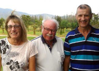 Carole & Richard Kubicki with Dave Richardson.