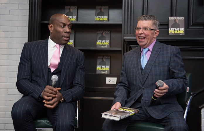 Paul Strachan interviews Frank Bruno about his life and career.