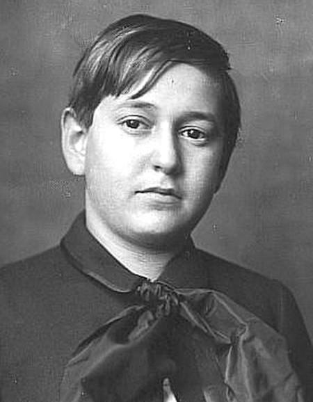 Erich Wolfgang Korngold in 1910.