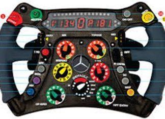 F1 Steering wheel.