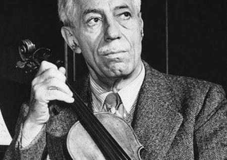 Fritz Kreisler.