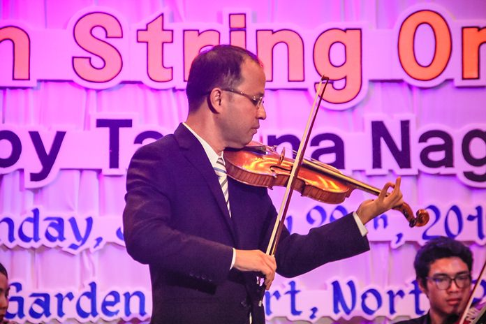 Dr Tasana Nagavajara, soloist in Vivaldi's Violin Concerto in A minor.