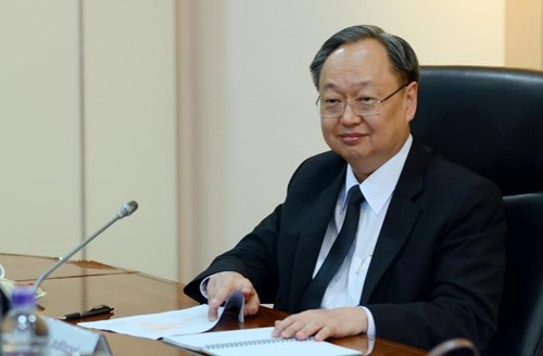 Commerce Minister Sontirat Sontijirawong.