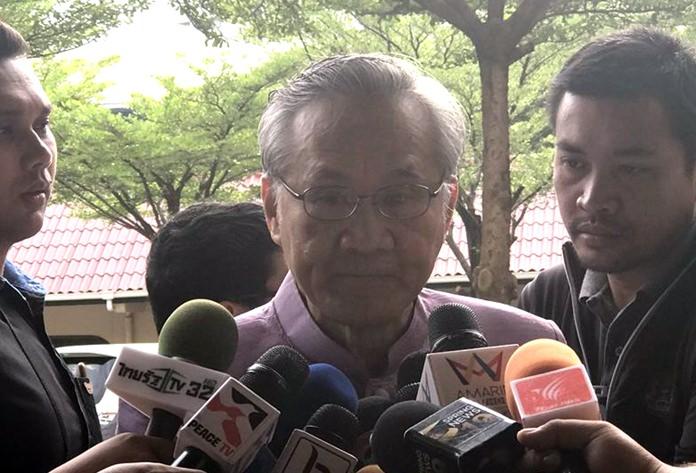 Foreign Minister Don Paramudniwinai.