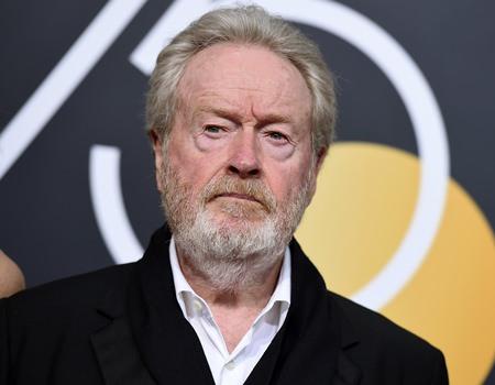 Film director Ridley Scott. (Photo by Jordan Strauss/Invision/AP)