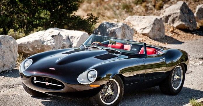 E-Type Jaguar.