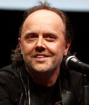 Lars Ulrich of Metallica. (Photo/Wikipedia commons)