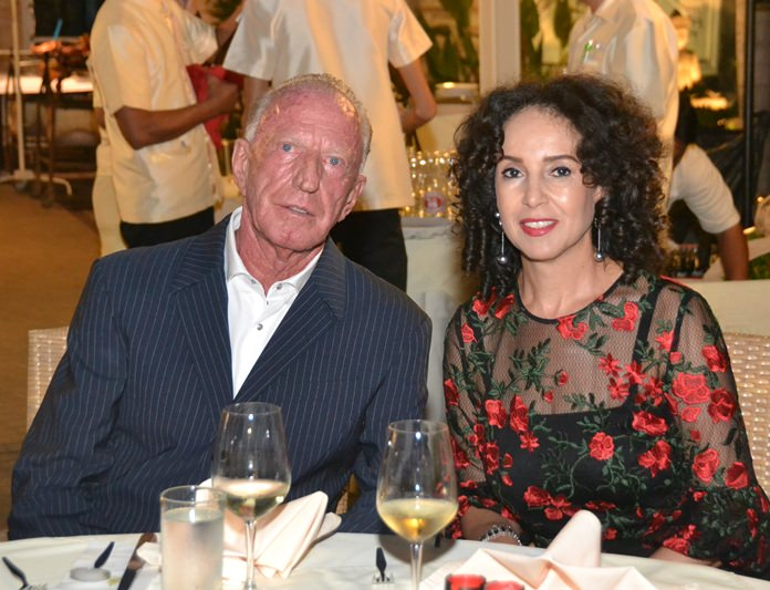 Gerrit Niehaus and his beautiful wife Anselma.