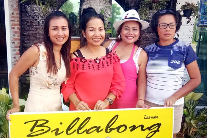 Ooh, Ann, Phaeng and Da.