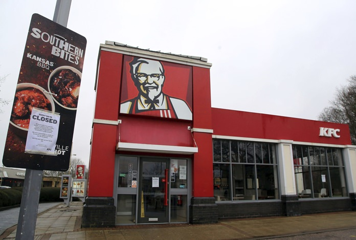 KFC now out of GRAVY as chicken crisis continues