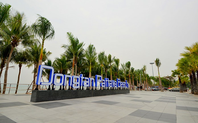 Phase 1 of the Dongtan Beach facelift is complete and the popular Jomtien Beach zone has an entirely new look.