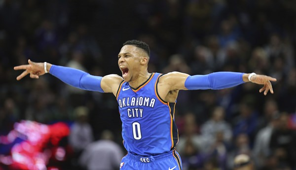 Brodie ball game; Westbrooks' game victor lifts Thunder