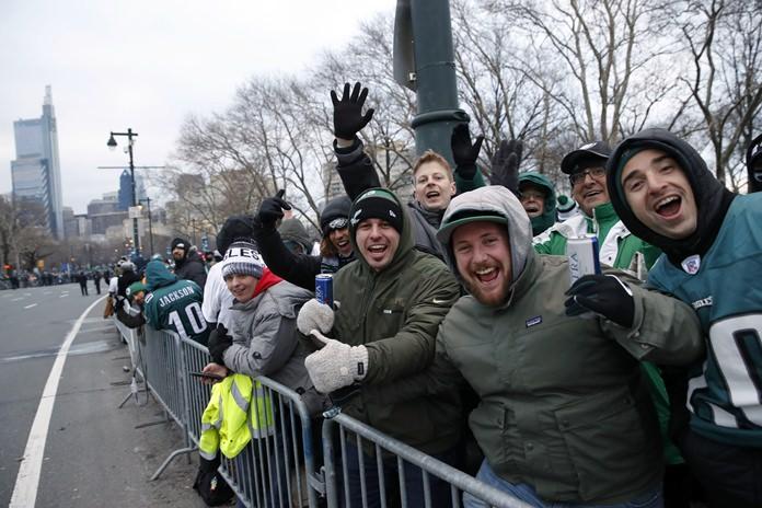 Philadelphia shuts down for massive Eagles Super Bowl parade