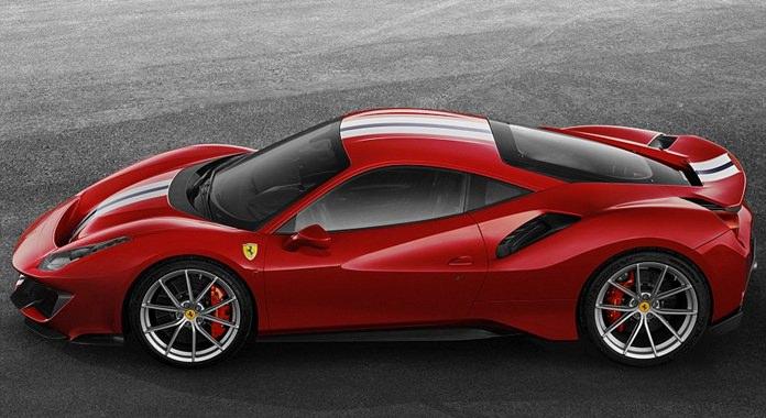 New Ferrari 488 Pista.