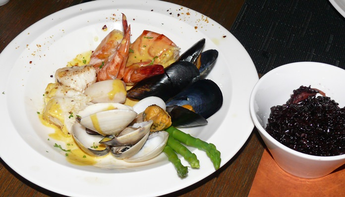 Seafood Casimir.