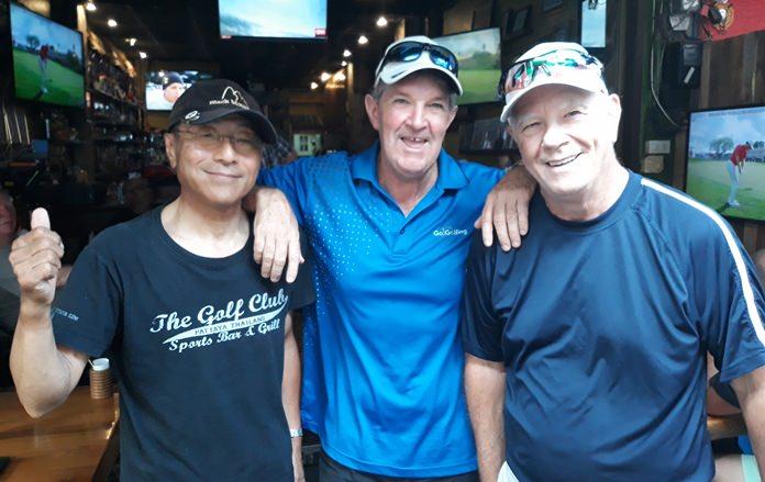 Masao Ishikawa, Ritchie McGhee & Alan Rothwell.