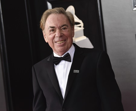 Andrew Lloyd Webber is shown in this Jan. 28, 2018 file photo. (Photo by Evan Agostini/Invision/AP)
