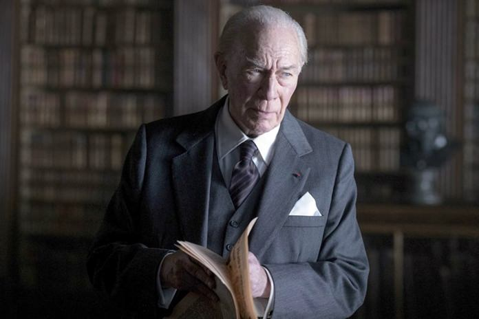 """This image shows Christopher Plummer in a scene from """"All the Money in the World."""" (Giles Keyte/Sony Pictures via AP)"""