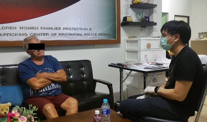 Marie Joseph Hendrikus Hyacinthus Reinards, 69, and his Thai assistant, Panya Kunlathon, 19, were arrested after allegedly delivering three underage boys to a pair of foreign police informants in Jomtien.