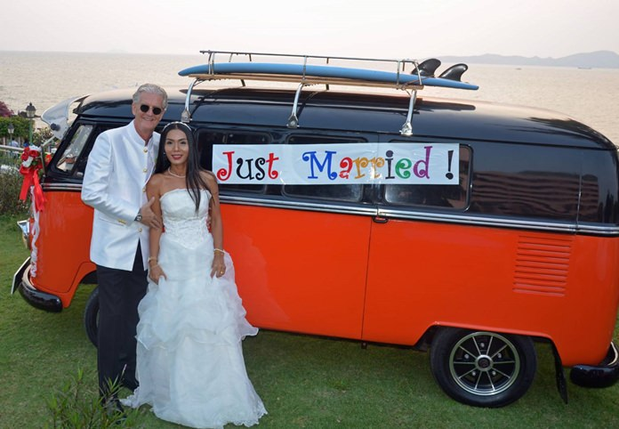 Noi has taken over as Jo's first love from his beloved Classic '1966 VW Bulli'.