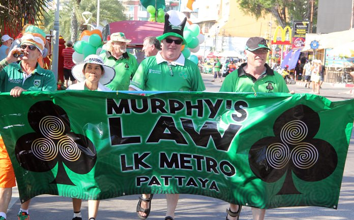 Murphy's Law, wouldn't be a parade without them.