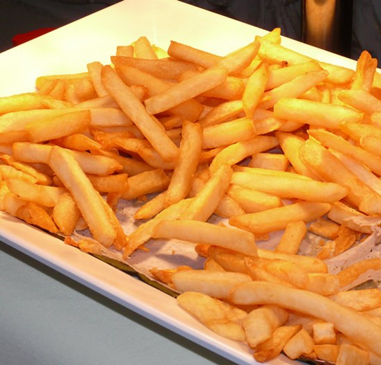 Very inviting French Fries.