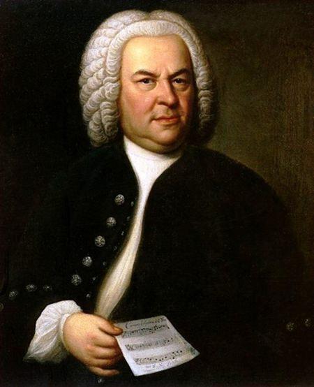 J. S. Bach c. 1746. (Elias Gottlob Haussmann)