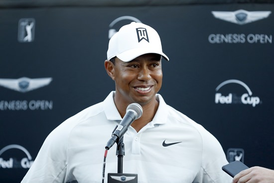 Tiger Woods is shown in this Feb. 16, 2018, file photo. (AP Photo/Ryan Kang)