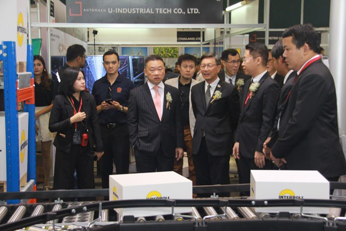 Manufacturers looking for a high-tech boost for their production line flocked to Pattaya for the Automatic Manufacturing Technology Exhibition.