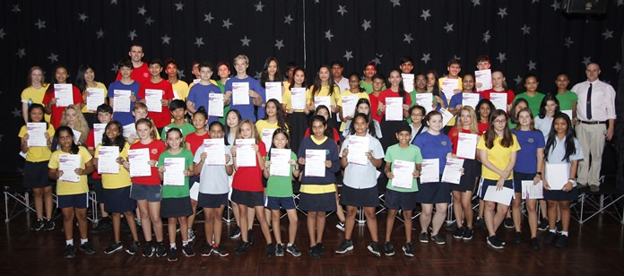 Secondary students had some spectacular LAMDA results.