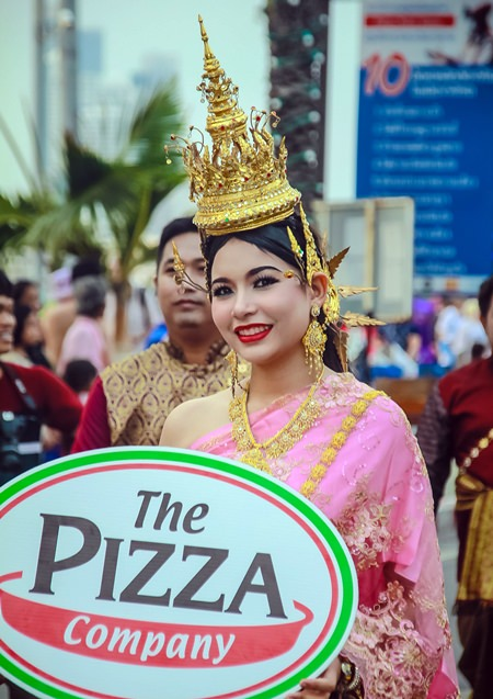 Anyone for a traditional Thai pizza?