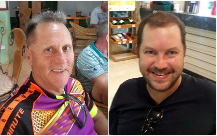 Paul Pavloff (left) & Andy Featherstone.